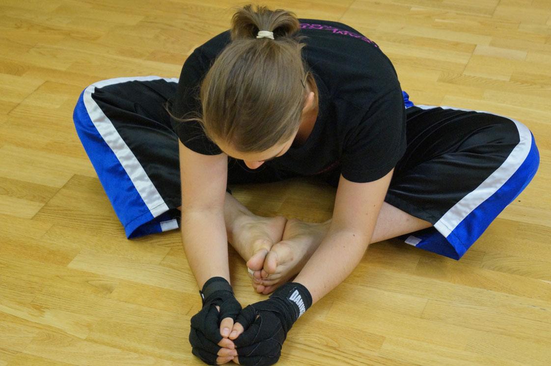 Die Gymnastik, Dehnungsübungen steigern dadurch die Sensibilität