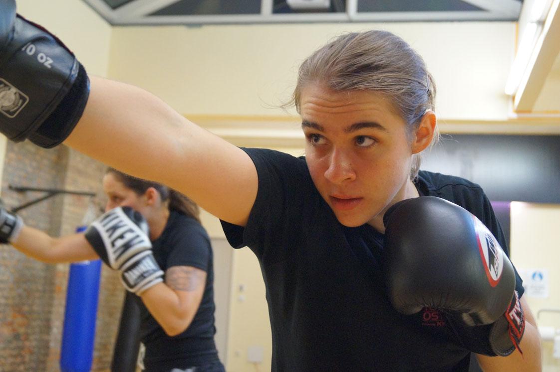Kickboxen ein moderner, abendländischer Kampfsport